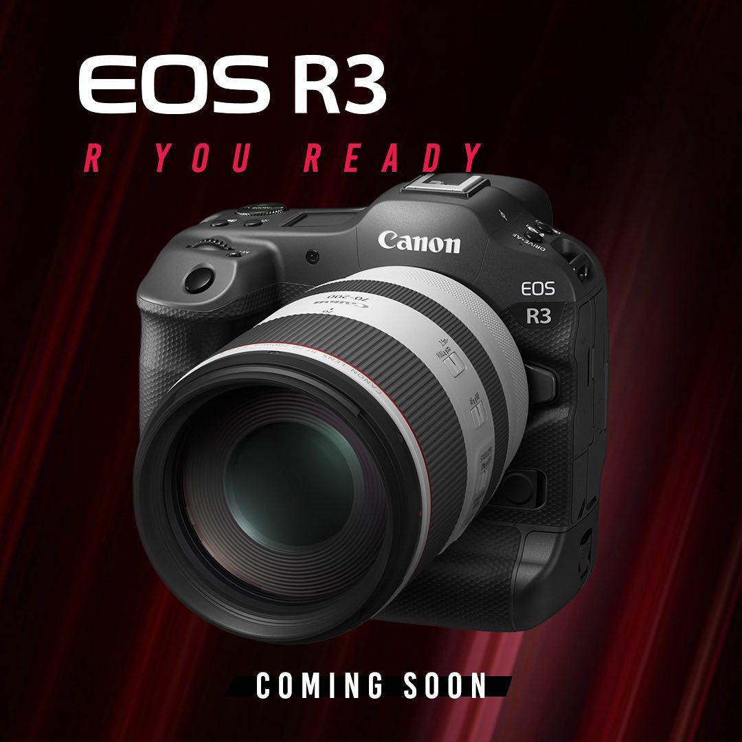 Akan Memiliki Sensor 45 Megapixel, Canon EOS R3 Bisa Merekam 8K?